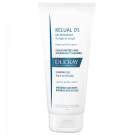 DUCRAY Kelual DS Αφρίζον Καθαριστικό Τζελ Για Πρόσωπο & Σώμα 200ml