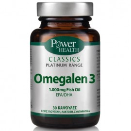 POWER HEALTH Classics Platinum Omegalen 3 1000mg 30caps