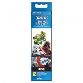 ORAL B Stages Power Ανταλλακτικές Κεφαλές Star Wars - 2τμχ