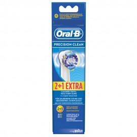 Oral B Ανταλλακτικά Για Οδοντόβουρτσες Precision Clean 2+1 Δώρο