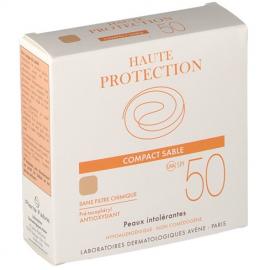 AVENE Compact Sable SPF50, Αντηλιακή Πούδρα Μη Ανεκτού Δέρματος - 10gr