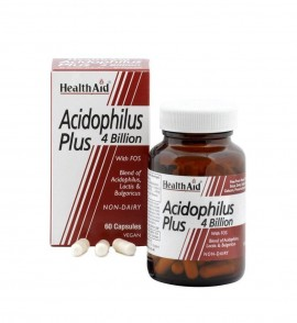 HEALTH AID Acidophilus Plus 4Billion 60Caps