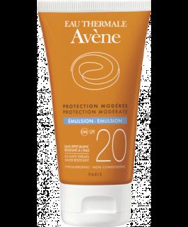 AVENE Emulsion SPF20, Αντηλιακή Κρέμα Προσώπου - 50ml