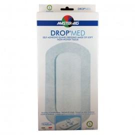 MASTER AID Drop Med Αντικολλητικές Aυτοκόλλητες Γάζες10.5X20cm 5τμχ