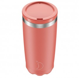 CHILLY'S BOTTLES Coffee Cup, Κούπα- Θερμός, Pastel Coral - 500ml