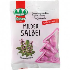 KAISER Milder Salbei Καραμέλες για το Βήχα Φασκόμηλο & 13 Βότανα 60gr
