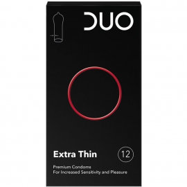 DUO Extra Thin 12τμχ