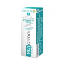 HELENVITA ACNormal Hydra Boost Cream- Ενυδατική Κρέμα Προσώπου Ελαφριάς Υφής 60ml