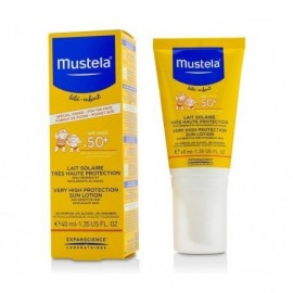 MUSTELA Very High Protection Sun Lotion SPF50, Βρεφικό - Παιδικό Αντηλιακό Προσώπου - 40ml