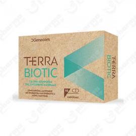 GENEC Terra Biotic, Συμπλήρωμα διατροφής με Προβιοτικά και Πρεβιοτικά - 10caps