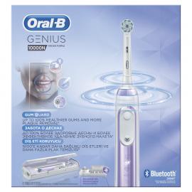 ORAL B Genius 10000N Orchid Purple, Ηλεκτρική Οδοντόβουρτσα
