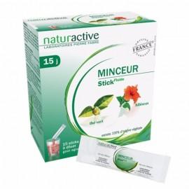 NATURACTIVE Minceur 15 Φακελίσκοι για Αραίωση με Γεύση Εσπεριδοειδών 15 τμχ