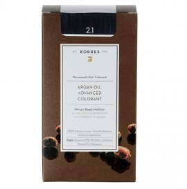 KORRES Βαφή Argan Oil  2.1 Μαύρο Μπλέ - 50ml