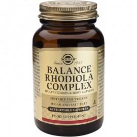 SOLGAR Balance Rhodiola Complex - 60caps