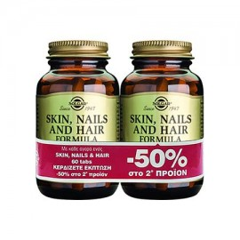 SOLGAR Skin, Nails & Hair - 2 X 60tabs
