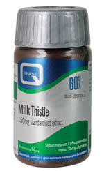 QUEST Milk Thistle 150mg 60Tabs