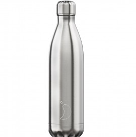 CHILLY'S BOTTLES Μπουκάλι- Θερμός, Silver - 750ml