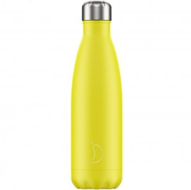 CHILLY'S BOTTLES Μπουκάλι- Θερμός, Neon Yellow - 500ml