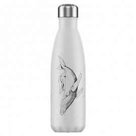 CHILLY'S BOTTLES Μπουκάλι- Θερμός Sea Life Whale  - 500ml