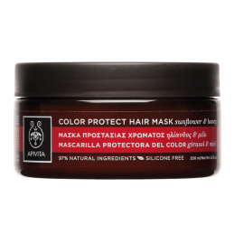 Apivita Μάσκα Προστασίας Χρώματος με Ηλίανθο και Μέλι 200ml