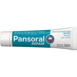 PANSORAL Repair Καταπραϋντική & Επανορθωτική Στοματική Γέλη για Ερεθισμούς του Στοματικού Βλεννογόνου για Παιδιά από 3 Ετών & Ενήλικες 15ml