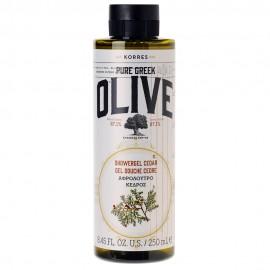 KORRES Pure Greek Olive, Αφρόλουτρο Κέδρος - 250ml