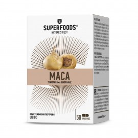 SUPERFOODS Maca Eubias 50Caps