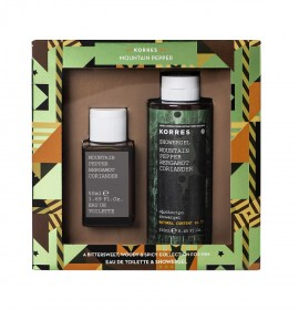 KORRES Set Mountain Pepper/Bergamot/Coriander Eau De Toilette 50ml & Showergel 250ml