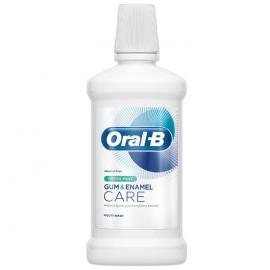 ORAL B Gum & Enamel Care Fresh Mint Στοματικό Διάλυμα 500ml
