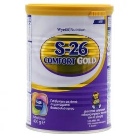 WYETH  S-26 - GOLD Comfort Διαιτητικό Τρόφιμο Από τη Γέννηση - 400gr