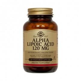 SOLGAR Alpha- Lipoic Acid 120mg - 60veg. caps