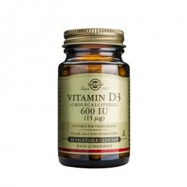 SOLGAR Vitamin D3 600IU - 60softgels